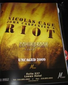 Riot Carpenter Cage