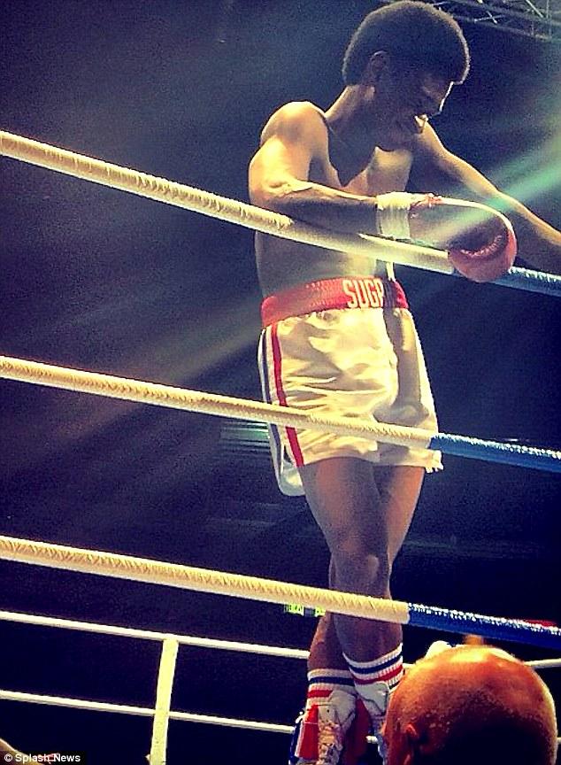 Usher Sugar Ray Leonard