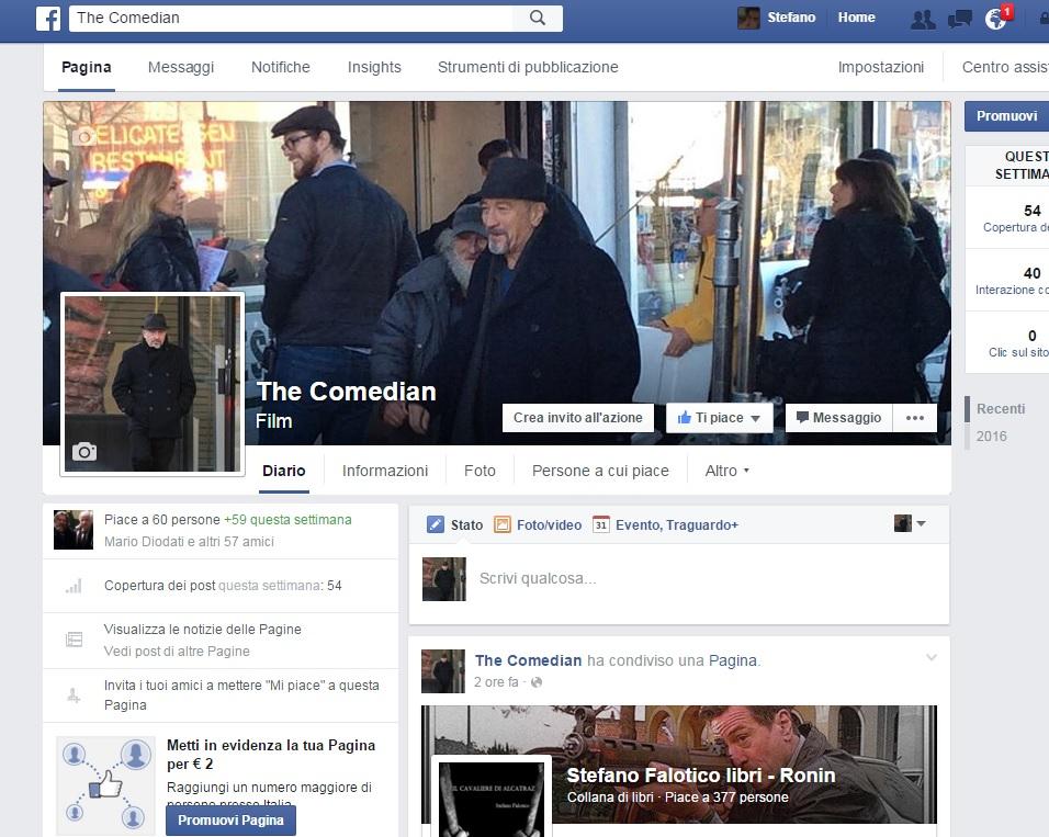 The Comedian Facebook