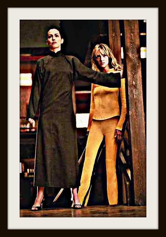 JULIE DREYFUS & UMA THURMAN in Kill Bill - Vol. 1 Filmstill - Editorial Use Only Ref: FB www.capitalpictures.com sales@capitalpictures.com Supplied by Capital Pictures