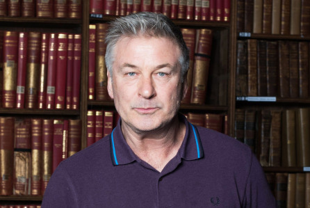 Mandatory Credit: Photo by The Oxford Union/REX/Shutterstock (9326916h) Alec Baldwin Alec Baldwin at the Oxford Union, UK - 19 Jan 2018