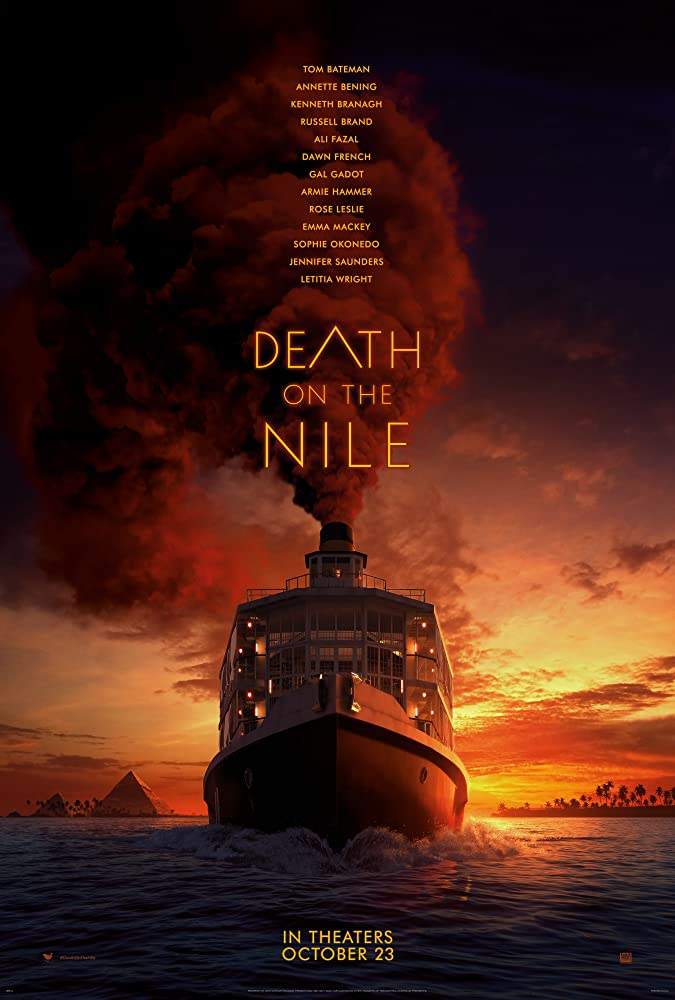 death on the nile poster branagh