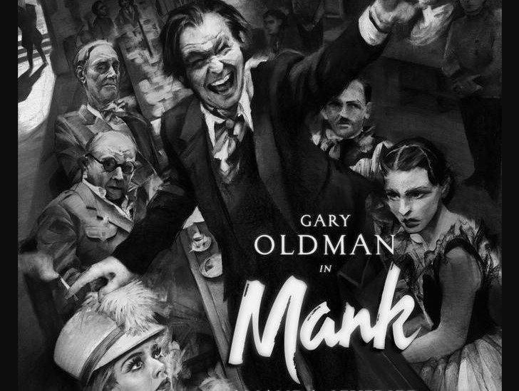 gary oldman fincher mank poster