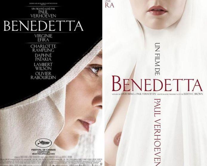 Benedetta Efira Verhoeven poster scandalo capezzoli