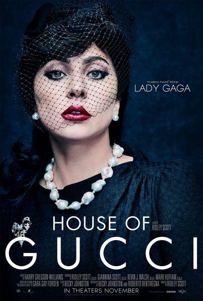Gucci Lady Gaga poster