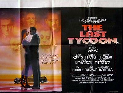 The Last Tycoon locandina