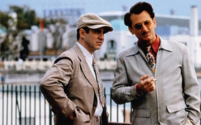 SWEET AND LOWDOWN, from left: Anthony LaPaglia, Sean Penn, 1999, © Sony Pictures Classics